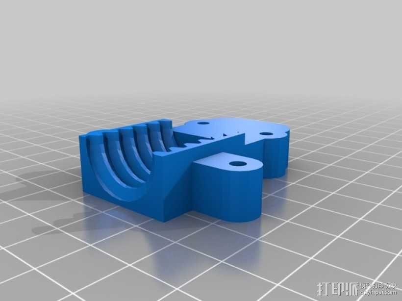 爪钩 V2 3D模型  图2
