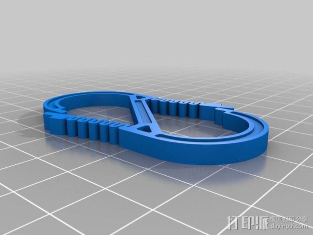 竖钩 3D模型  图5