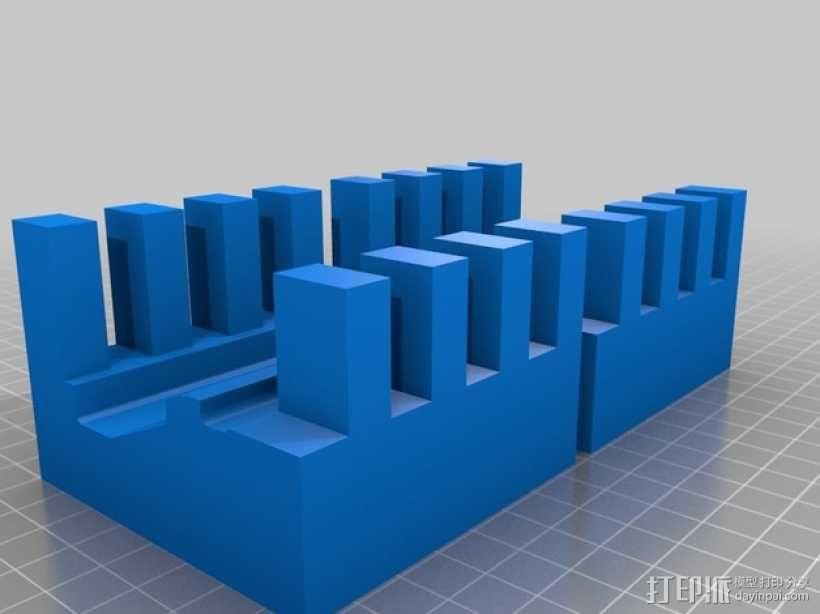 AR接收机保护套 3D模型  图2