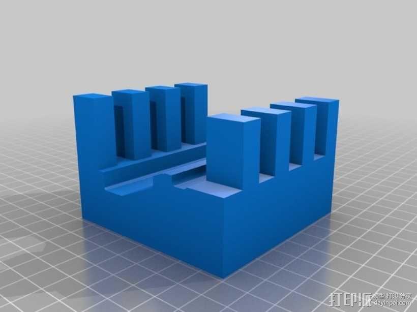 AR接收机保护套 3D模型  图3