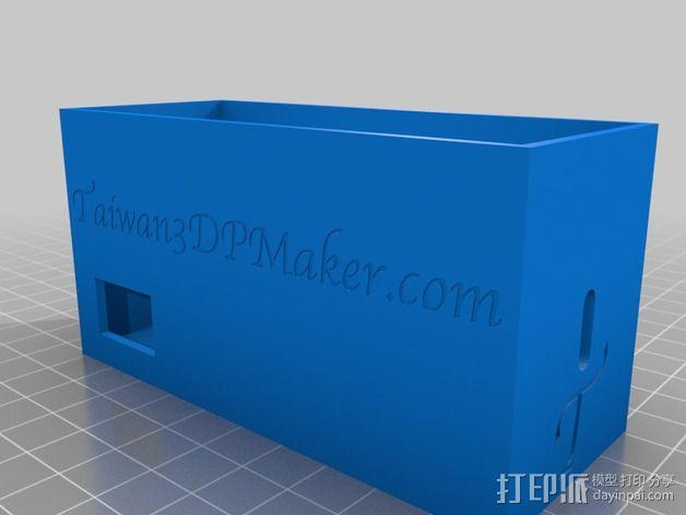 电源保护套 3D模型  图2