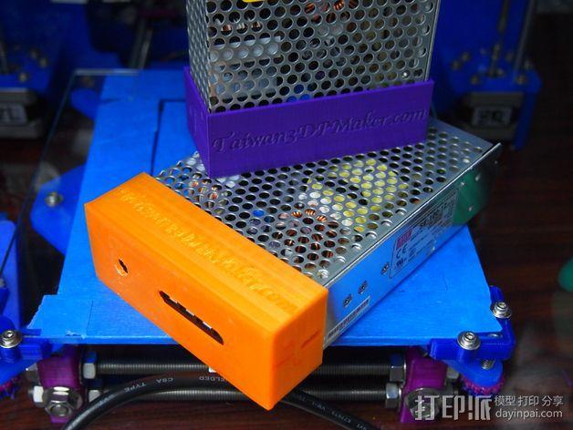 电源保护套 3D模型  图3