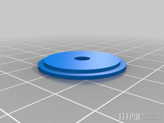 数控雕刻机防尘管 管帽 3D模型  图3