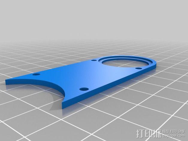 数控雕刻机防尘管 管帽 3D模型  图4