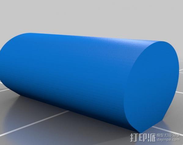 纸张褶皱抚平装置 3D模型  图6