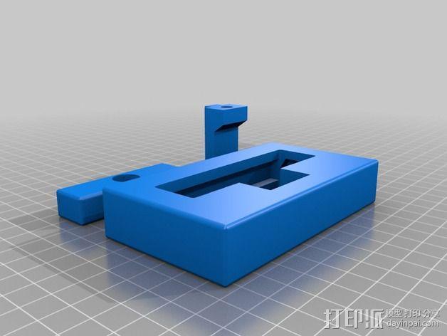 迷你压力机 3D模型  图1