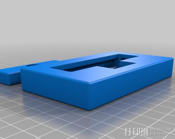 迷你压力机 3D模型  图3