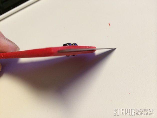 刮刀 3D模型  图2