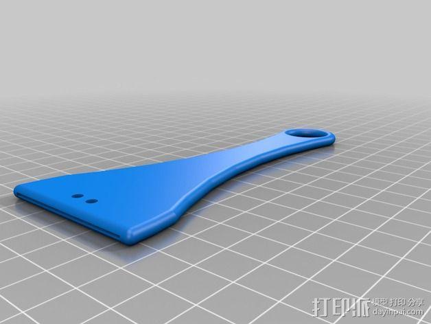 刮刀 3D模型  图3