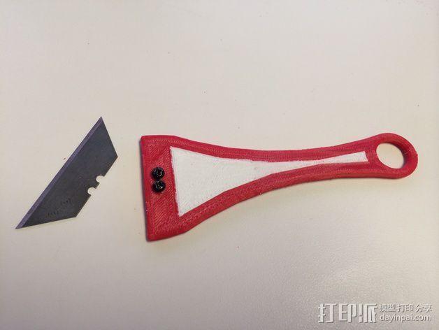 刮刀 3D模型  图5