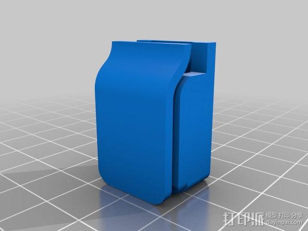剪刀 固定夹 3D模型  图2
