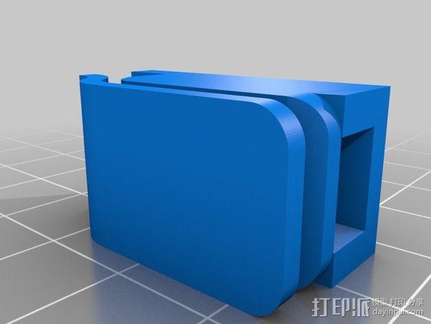 剪刀 固定夹 3D模型  图3