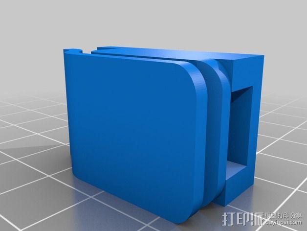 剪刀 固定夹 3D模型  图4