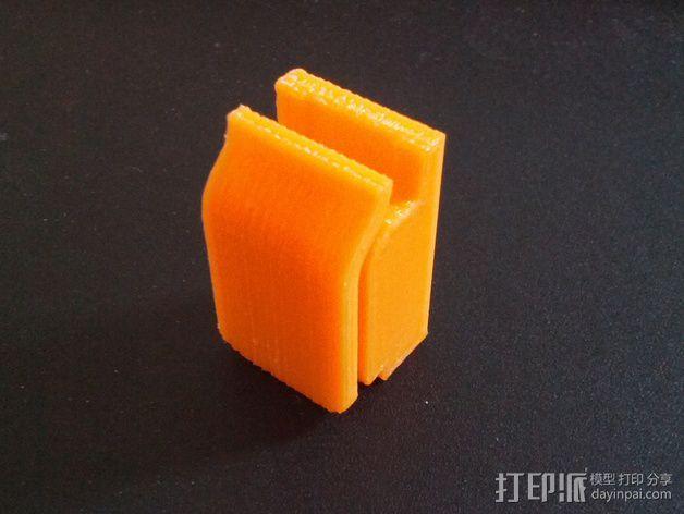 剪刀 固定夹 3D模型  图9