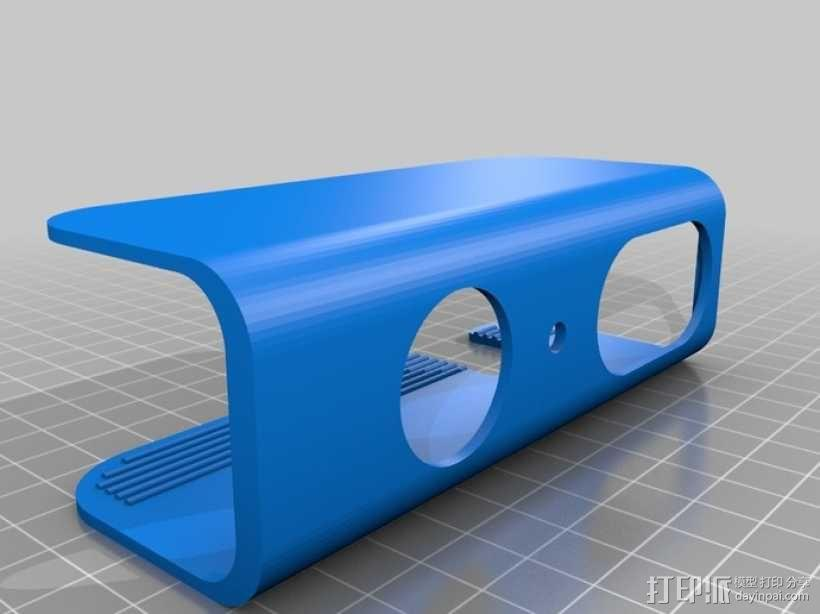 XBOX Kinect镜头固定架 3D模型  图4