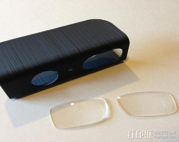 XBOX Kinect镜头固定架 3D模型  图2