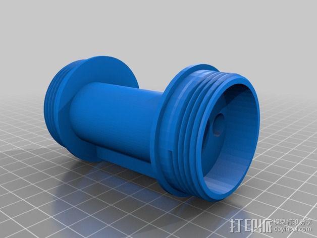 流体开关 3D模型  图3