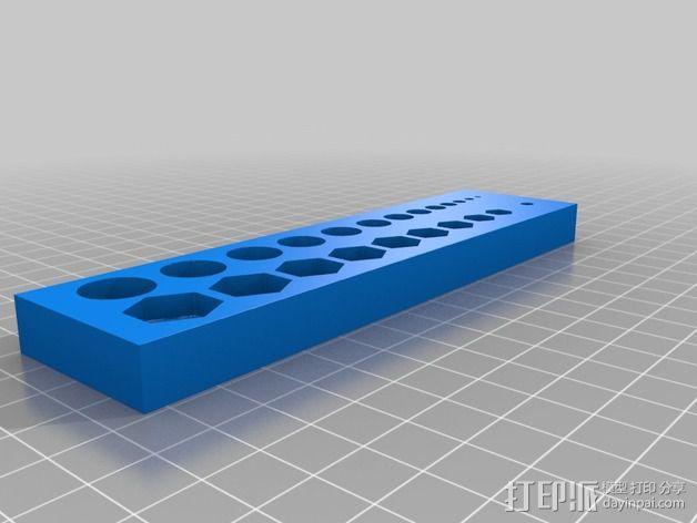 螺母螺丝计量器 3D模型  图1