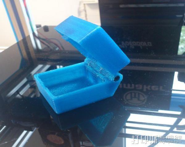 小盒 3D模型  图1