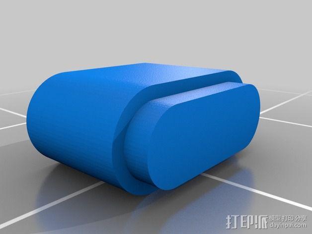 FaceDancer21电路板 外壳 3D模型  图2