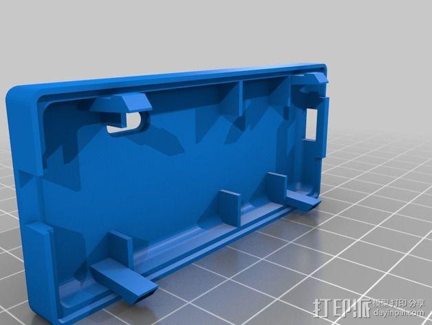 FaceDancer21电路板 外壳 3D模型  图4