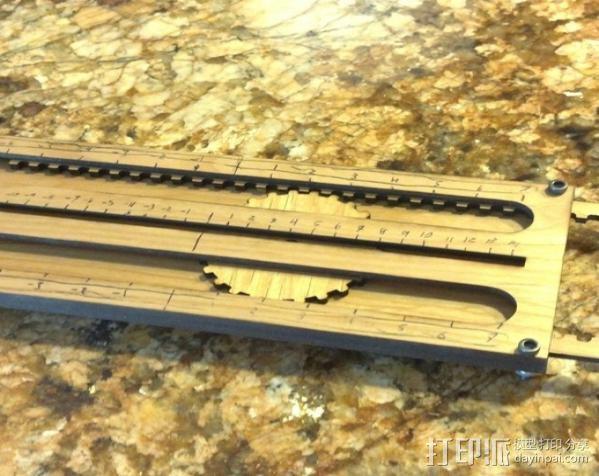 机械加法机 3D模型  图2