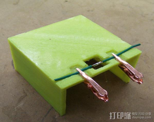 线缆接头夹具 3D模型  图1
