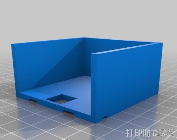 线缆接头夹具 3D模型  图2