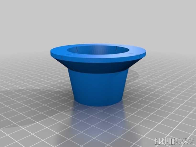 天花板钻孔引导装置 3D模型  图3