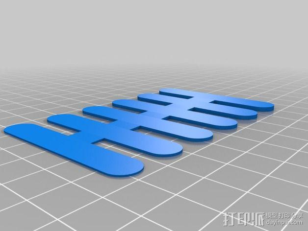 ThickCard 物品厚度测量装置 3D模型  图4