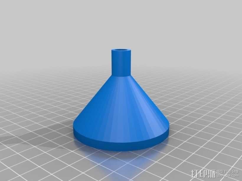 漏斗 3D模型  图1