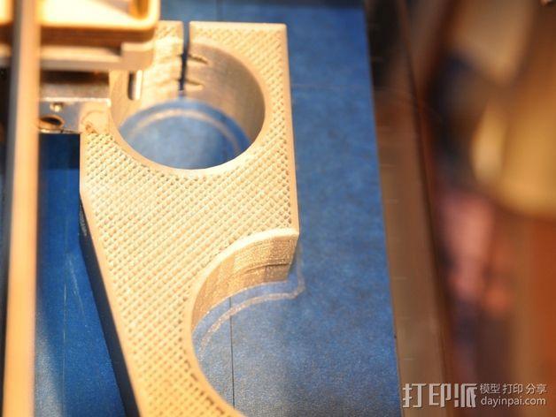 车床横向进给组装零部件 3D模型  图8