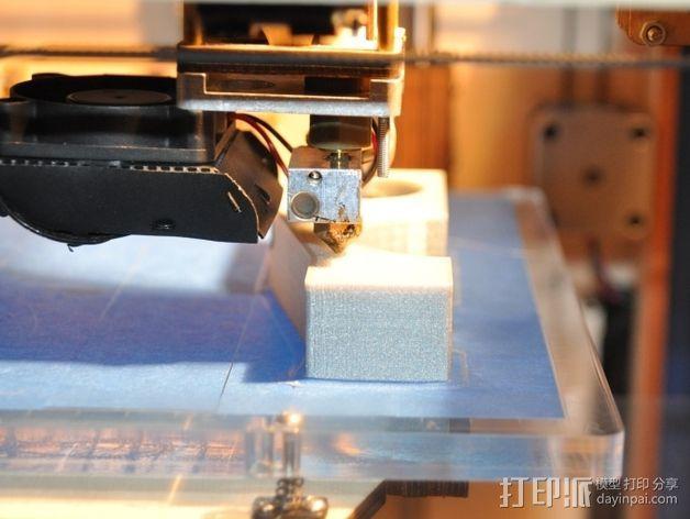 车床横向进给组装零部件 3D模型  图7