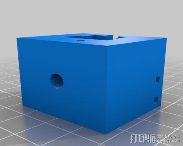 定制化齿轮拆卸器 3D模型  图2