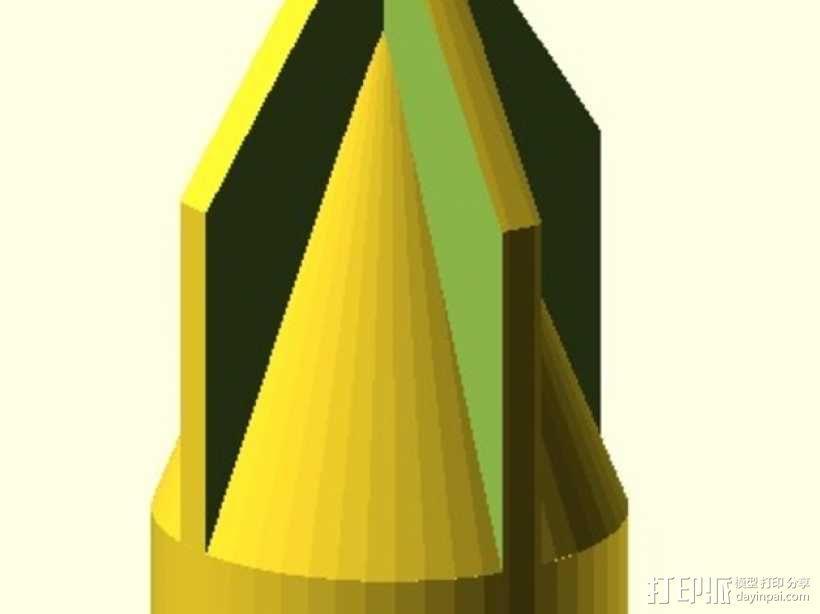 螺丝刀 3D模型  图3