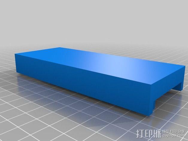 机械手手指铸件 3D模型  图4