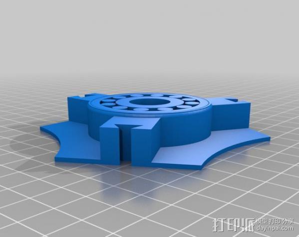 个性化线轴架 3D模型  图2