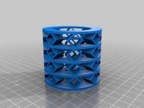 参数化弹簧 测试版 3D模型