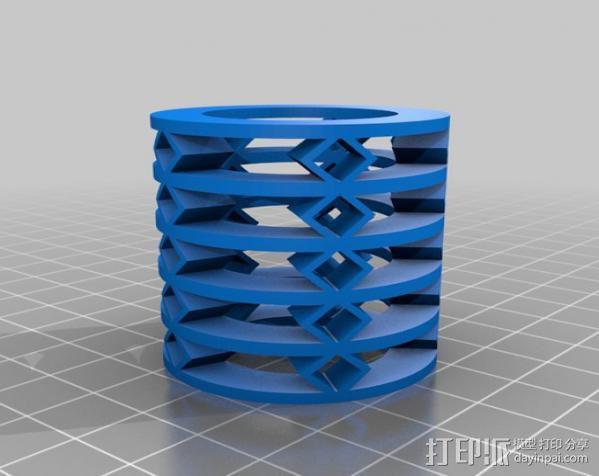 参数化弹簧 测试版 3D模型  图3