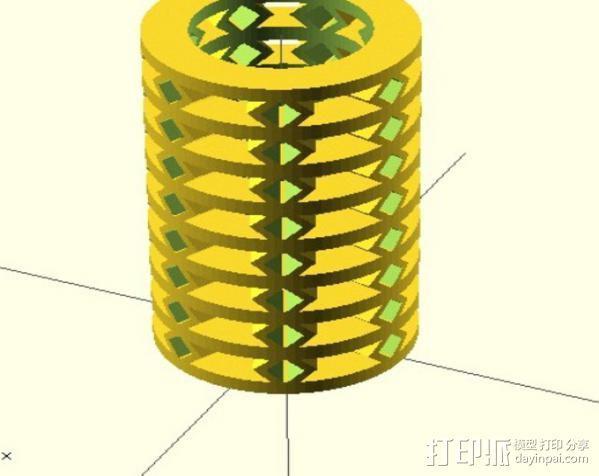 参数化弹簧 测试版 3D模型  图5