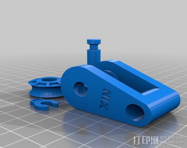 迷你滑轮 3D模型  图2