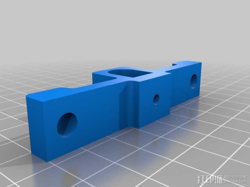 Shapeoko2数控设备 笔架 3D模型  图2