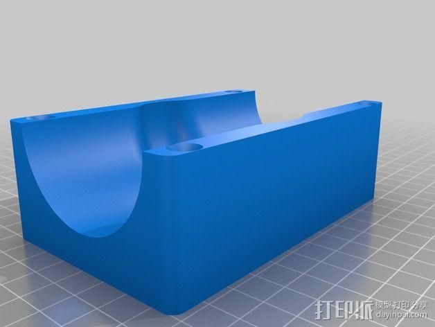 软管球形阀 3D模型  图2