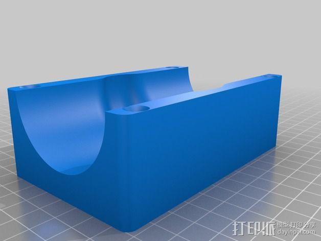 软管球形阀 3D模型  图3