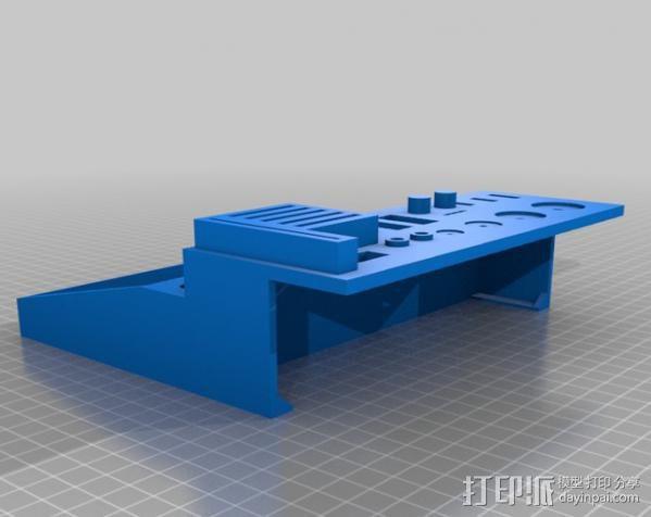 Lulzbot工具盒 3D模型  图1