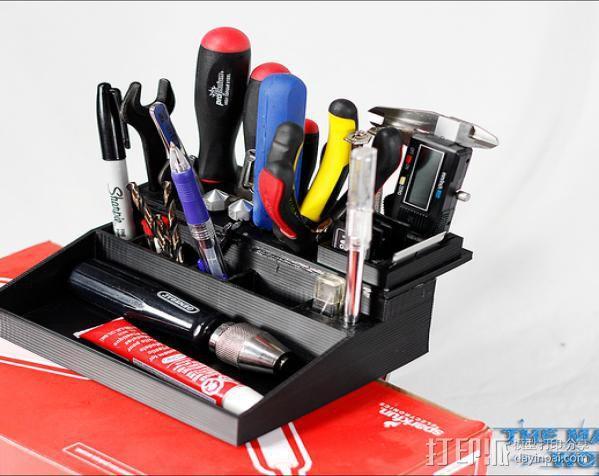 Lulzbot工具盒 3D模型  图3