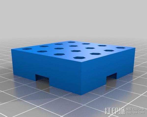 模块化钻头架 3D模型  图2