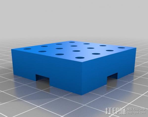 模块化钻头架 3D模型  图4