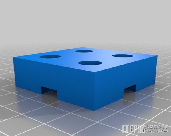 模块化钻头架 3D模型  图11