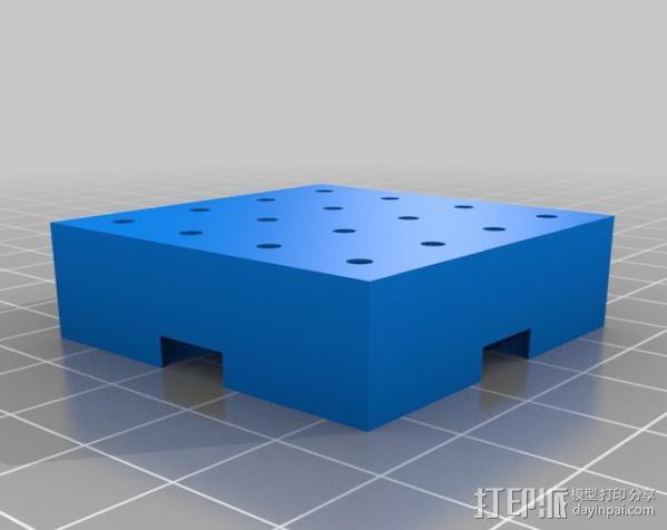 模块化钻头架 3D模型  图13
